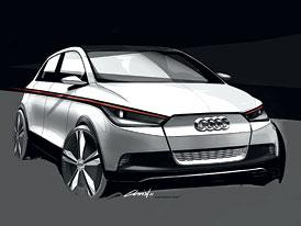 Audi A2: Elektrický návrat dvojky se odehraje ve Frankfurtu