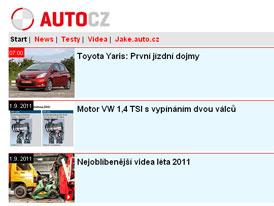 m.Auto.cz: Mobiln� verze Auto.cz je tady