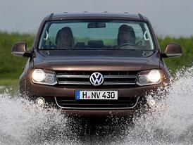 VW Amarok: Nové fotografie pick-upu