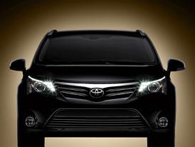 Toyota Avensis (2012): Diody a nov� tv�� (prvn� foto)