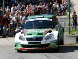 Škoda Motorsport na IRC Mecsek Rally s čerstvým vítězem Barumky Kopeckým