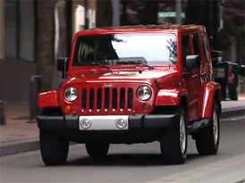 Video: Jeep Wrangler Unlimited – Staticky i v pohybu