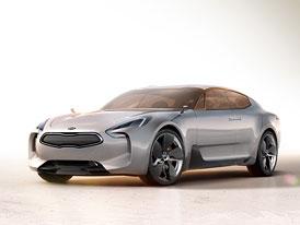 Kia GT: Korejský Rapide dostal motor 3,3 V6 T-GDI (291 kW)