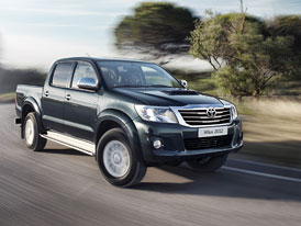 Toyota Hilux 2012: Omlazený legendární pracant (video)
