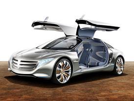 Mercedes-Benz F 125!: Gullwing trochu jinak (video)