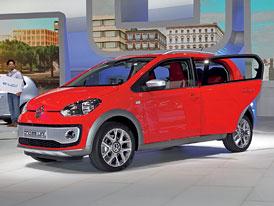 Volkswagen Cross Up!: Pětidveřový Up je tady
