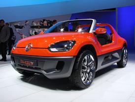 Volkswagen Buggy Up Concept: Po městě dobrodružně