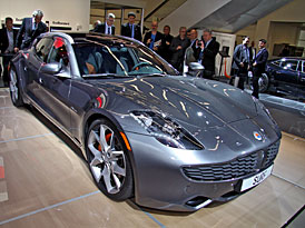 Fisker ve Frankfurtu: Druhý model je Shooting Brake