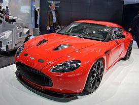 Aston Martin ve Frankfurtu: V12 Zagato a One-77