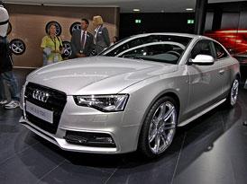 Audi ve Frankfurtu: Ve znamení motorářů