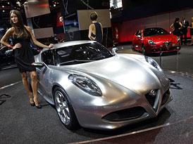 Alfa Romeo ve Frankfurtu: Známé modely, nové motory