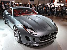 Jaguar ve Frankfurtu: E-Type se vrací, má KERS