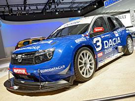 Dacia ve Frankfurtu: Duster Pikes Peak a hasiči