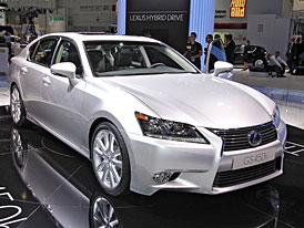 Lexus ve Frankfurtu: Super-hybrid GS 450h a CT 200h F-Sport
