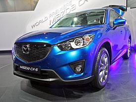 Mazda ve Frankfurtu: CX-5 je tu a s ní Skyactiv