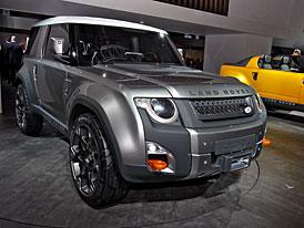 Land Rover ve Frankfurtu: Poslední zvonění pro Defender