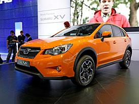 Subaru ve Frankfurtu: Nová Impreza a zadokolka