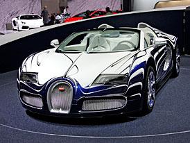 Bugatti ve Frankfurtu: Porcelánový Veyron