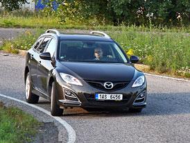 Dlouhodob� test: Mazda 6 2,2 MZR-CD Wagon - Na cest�ch po vlastech �esk�ch