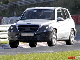 Spy Photos: Mercedes-Benz GLK – Facelift po vzoru třídy M