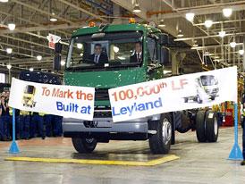 Leyland Truck oslavuje 100.000 DAF LF