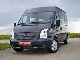Ford Transit (2012): První jízdní dojmy