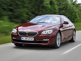 BMW 6 na českém trhu: Kupé, xDrive a diesel