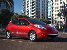 Elektromobil Nissan Leaf vstoupí na český trh v roce 2013