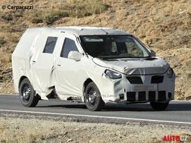 Spy Photos: Dacia Popster – Velká Dacia za malé peníze