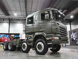 Scania R 730 8x8: Tahač pro extrémní podmínky