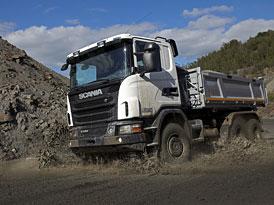 Scania: Nová vozidla pro terénní provoz