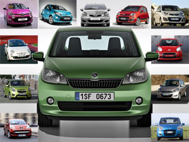 Český trh v roce 2011: Nejprodávanější minivozy