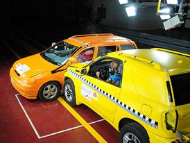 Crash-test SUV proti osobnímu autu: Co vás čeká? (video)