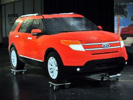 Ford Explorer Lego Edition: Premiéra v závodě Fordu v  Chicagu (video)