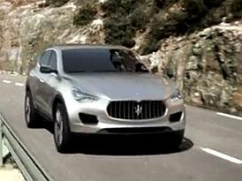 Maserati Kubang: Historie trojzubce a nové SUV ve třech minutách (video)