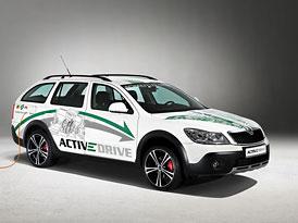 Škoda Octavia Scout Schaeffler ACTIVeDRIVE: Elektrická čtyřkolka s 210 kW
