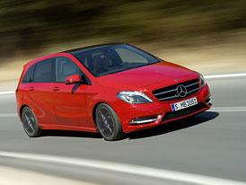Mercedes-Benz B: České ceny podrobně