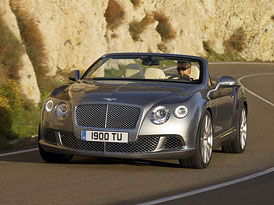 Video: Bentley Continental GTC (2012) – Jízda bez střechy