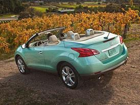 Nissan Murano CrossCabriolet (2012): Bez střechy s příplatkem 4.640 dolarů