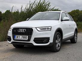 Audi Q3 2,0 TDI quattro: České jízdní dojmy