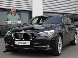 BMW UK: V Británii se prodaly 2 miliony bavorských vozů