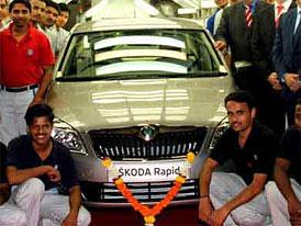 Indická Škoda Rapid: Výroba zahájena