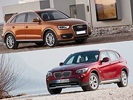 Audi Q3 vs BMW X1: Designový duel