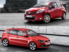 Volkswagen Polo vs. Toyota Yaris: Designový duel