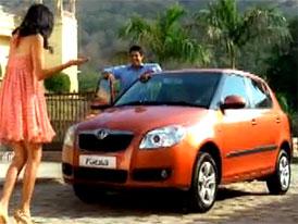 Škoda Fabia v Indii: Because you're special (video)