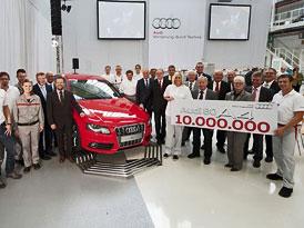 Audi 80/A4: 10 milionů vyrobených kusů
