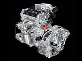 Nissan 2,5 l hybrid: Elektromotor, kompresor a CVT