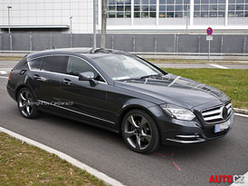 Mercedes-Benz CLS Shooting Brake: Kombi na �pion�n�m videu