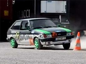 Video: Ford Fiesta - Gymkhana jinak