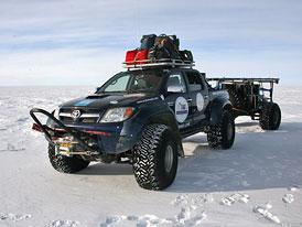 Arctic Trucks: Islandské Hiluxy na jižním pólu (video)